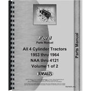 New Fits Ford 641 Tractor Parts Manual