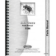 New Parts Manual Fits Case 1194 Tractor