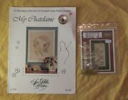 2 Cross Stitch Patterns With Charms My Chatelaine Sewing Thimble And Ladybug