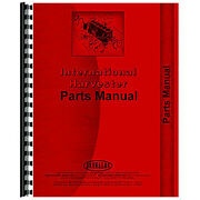 Tractor Parts Manual For International Harvester Fits Cub Cadet 582 Lawn Tractor