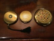 Lot Of Three Vintage Compacts Arden And Zell