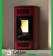 Heating Stove Pellet Stove Cola Thermo Pearl Plus 20.92 Kw Wi-fi Various Colours
