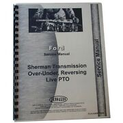 Fo-s-sher-tran Tran Tractor Service Manual Fits Ford For Sherman