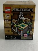 Lego Minecraft The Village Micro World Set 21105 With Mini Villager, Pig, Zombie