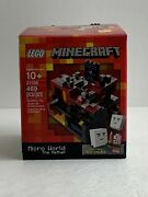 Lego Minecraft The Nether Micro World Set 21106 With Zombie Pigman And Ghasts