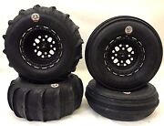Dwt Sector Gmz Beadlock Sand Stripper Xl 30 Dune Paddle Tires Front Rear Rzr Xp