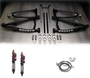Houser +2 Long Travel Mx A-arms Elka Stage 4 Front Shocks Suspension Yfz450x