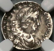 1683 Ngc Vf 30 Charles Ii Penny Mint Error Great Britain Silver Coin 19123101c