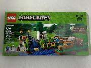 Lego Minecraft The Farm Set 21114 Includes Steve Skeleton Sheep And Cow