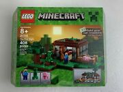 Lego Minecraft The First Night Set 21115 Includes Steve Creeper And Pig