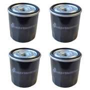 Pack Of 4 Oil Filters For Kawasaki Engines Fits Cub Cadet Fits John Deere Snappe