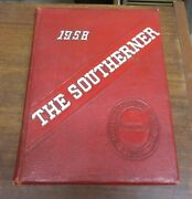 1958 The Southerner Southern High School Durham North Carolina Yearbook