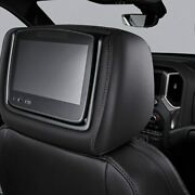 Genuine Gm Headrest And Video Screen Assembly 84556196