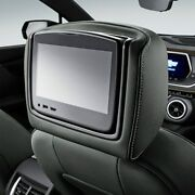 Genuine Gm Headrest And Video Screen Assembly 84352472