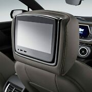 Genuine Gm Headrest And Video Screen Assembly 84352467
