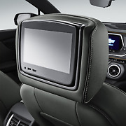 Genuine Gm Headrest And Video Screen Assembly 84628534