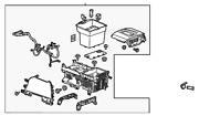 Genuine Gm Console Assembly 84105082