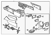 Genuine Gm Console Assembly 84334302