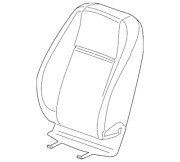 Genuine Gm Seat Back Cover 95259637