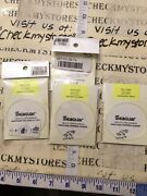 4x New Seaguar Knotless Fluorocarbon Tapered 9' Leader Size7x