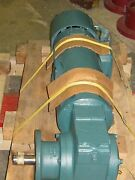Reliance Electric T56s1011b Power Matched Dc Motor W/ 079165-22-xs Gear Box