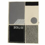 59840 Auth Olympia Le-tan White Embroidered Sensation Fo Flight Book Clutch Bag