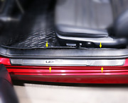 Door Sill Wear Welcome Pedal Protection Strip Trim For Lexus Rc 200t/300/350h