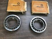 1954-66 Chevy Big Truck Outer Rear Axle Bearings Nos Gm Pair 120