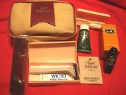 Vintage Northwest Orient Airline Regal Imperial Toiletry Amenity Bag First Class