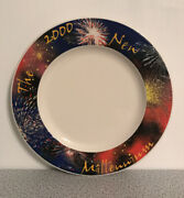 The 2000 New Millennium Vintage Plate Made In Usa A Product Of Syracuse China Co