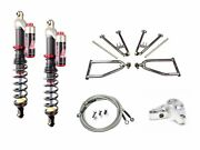 Lsr Lone Star Dc-4 Long Travel A-arms Elka Stage 3 Front Shocks Kit Yfz450 04-05
