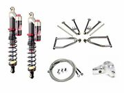 Lsr Lone Star Sport A-arms Elka Stage 3 Front Shocks Kit Yamaha Yfz450 06-14
