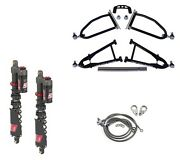 Lsr Lone Star Dc-4 Long Travel A-arms Elka Stage 5 Front Shocks Kit Yfz450x