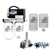 Airdog Ii-4g 165 Gph Lift Pump Extra Filters Sump For 2001-10 Chevy/gmc Duramax
