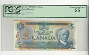 1979 Canada 5law/bou 33000342356 Bc-53at Pcgs Au-55 Test Note