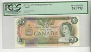 1979 Canada 20 Lawo/bou 51001588387 Bc-54aa Pcgs Au-58 Ppq Repl. Note