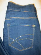 Not Your Daughters Jeans Nydj Stretch Womens Dark Blue Size 6 X 32 Usa Mint