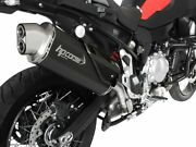 Hp Corse 4 Track R Black Steel Exhaust Silencer Bmw F 850 Gs 2019-2020