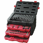 Craftsman 450 Pc. Mechanics Tool Set, Inch And Metric, Ratchets Wrenches Bits Case
