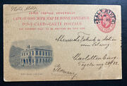 1911 Salt River Cape Of Good Hope Stationery Postcard Cover To Berlin Germany