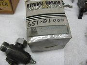 Stewart Warner Wings 90 Degree Cable Drive Unit Model 651-d 1/1 Ratio