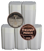 One Hundred - Trump Rally 1oz Avdp Proof Like Copper Rounds T9c