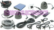 Rostra 250-8932-gps 1-4 Ch Dvr System W/1ir3 Dome Cam /wcables And Gps Antenna