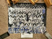 16x20 Photo Autographed Signed By 36+ Aagpbl Rockford Peaches Nice And Rare