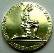 The Netherlands,william Of Orange Father Of The Fatherland Silver Medal 60mm