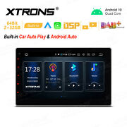 Universal 10.1 Android 10.0 2-din Car Stereo Radio Dsp Wifi For Nissan Toyota