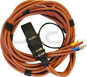 Aviation 400hz Output Cable Gpu For Houchin 345-8842 345-9806 347-8547