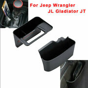 Car Auto Center Console Side Storage Tray Part For Jeep Wrangler Jl Gladiator Jt