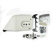 Chain Sprocket Cover Assembly Tensioner Bumper Spike Kit For Stihl 026 028 034