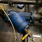 Titan Fci 6 Wye Strainer With Blow Off/down Valve In Good Used Condition.